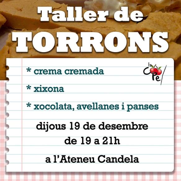 cartellTallerTorro